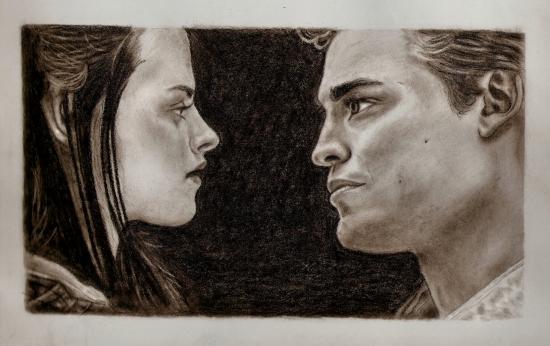 Kristen Stewart, Robert Pattinson por yaxyne
